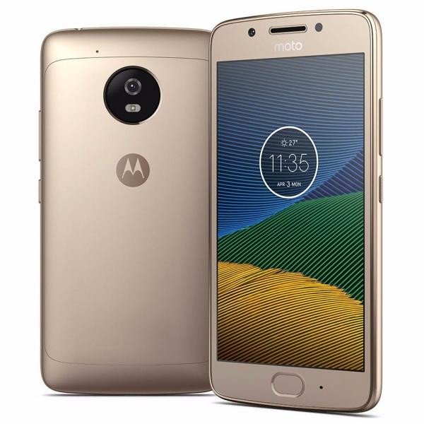 Motorola Moto G5 16gb 13mp 2 Chips Tela 5.0 Dourado