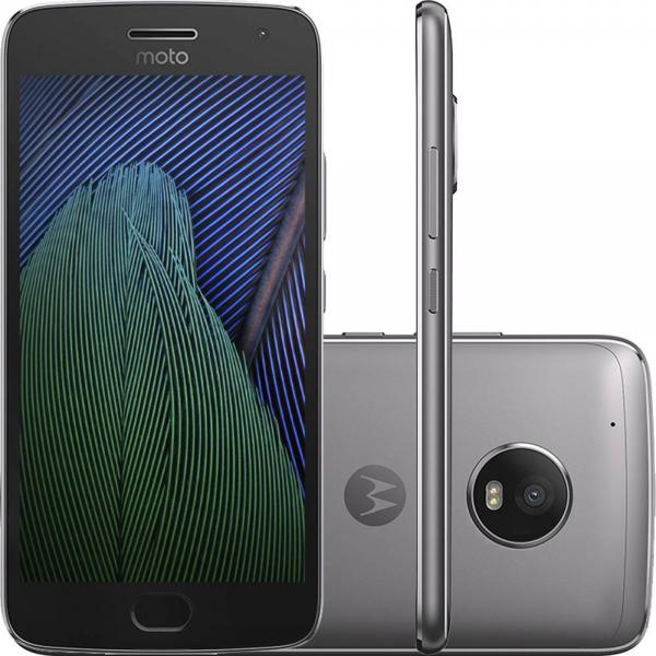"Smartphone Moto G5 Plus Dual Chip Android 7.0 Tela 5.2"" 32GB 4G Câmera 12MP"