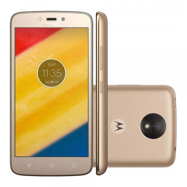 "Smartphone Motorola Moto C Plus XT1721 Dual Sim 16GB de 5.0"" 8MP/2MP Os 7.0"