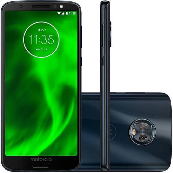 Smartphone Motorola Moto G6 XT1925 3GB+32GB Lte Dual Sim 5.7 Cam.12MP/5MP+8MP
