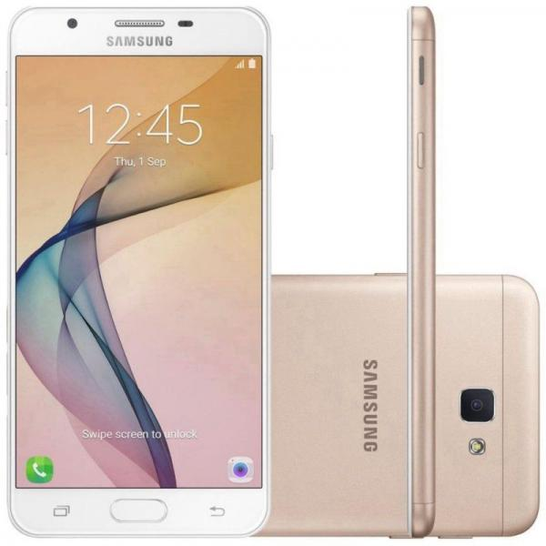 "Smartphone Samsung Galaxy J7 Prime SM-G610F 32GB LTE Dual Sim 5.5"" Câm.13MP+8MP"