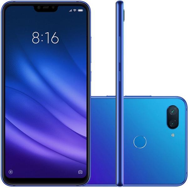 Celular Xioami Mi 8 Lite Azul 64gb Global + Capa Mi8
