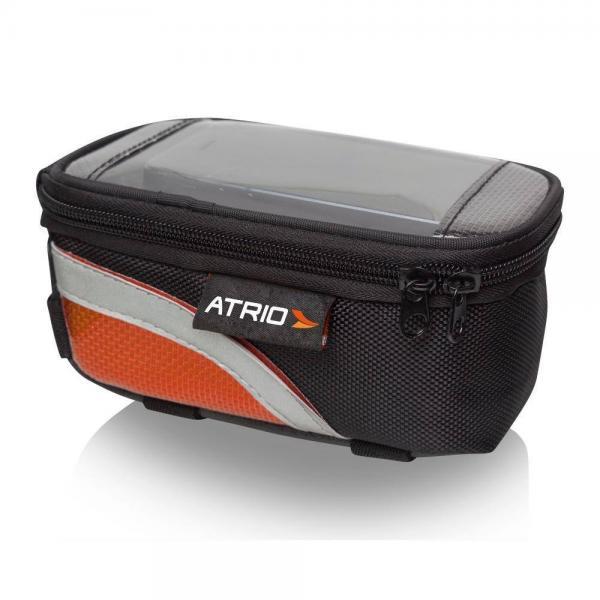 Bolsa Porta Celular Para Cano De Bicicleta Preto Atrio - BI022