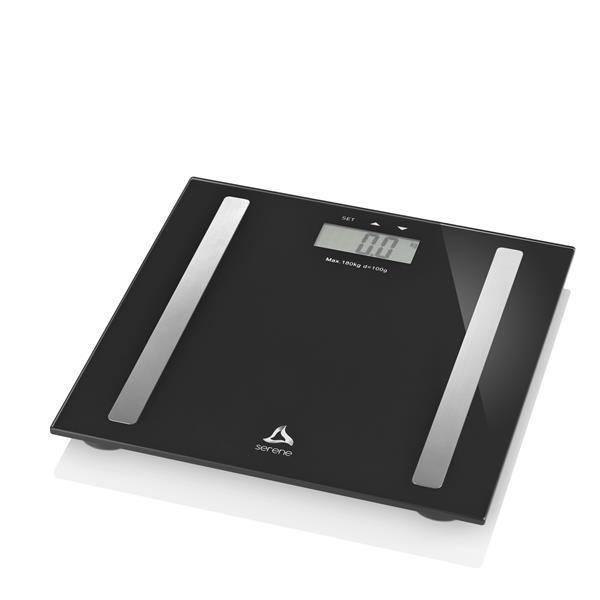 Digi health Pro Balanca Digital Multifuncoes Preta - Serene - HC030