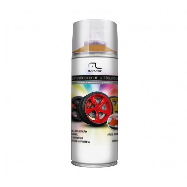 Spray de Envelopamento Líquido 400 ML Dourado Multilaser - AU422