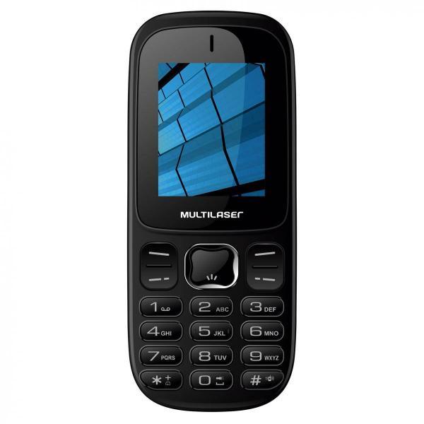 Celular UP 3G , Câmera, Bluetooth, Dual Chip, Desbloqueado Preto Multilaser - P9017