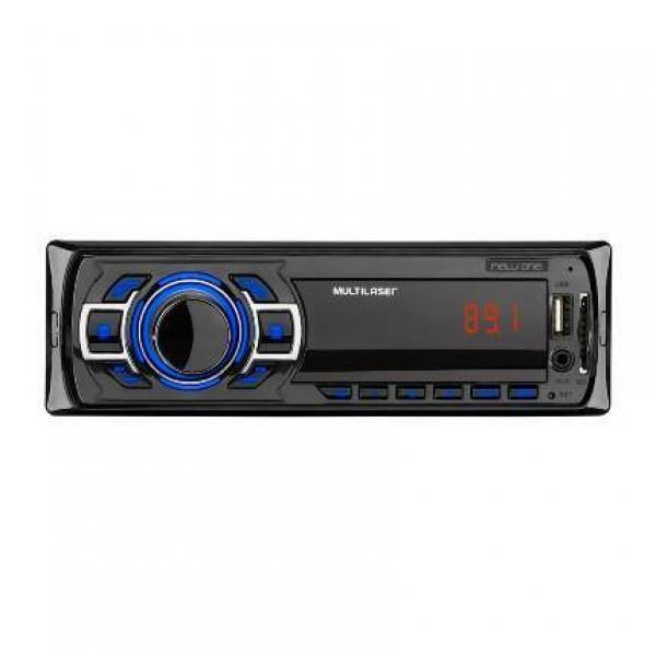 Som Automotivo New One Mp3 Player 4X25W Multilaser - P3318