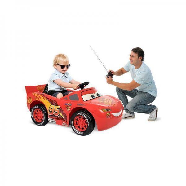 Mini Carro Elétrico Relâmpago McQueen EL 6V Bandeirante - 2338