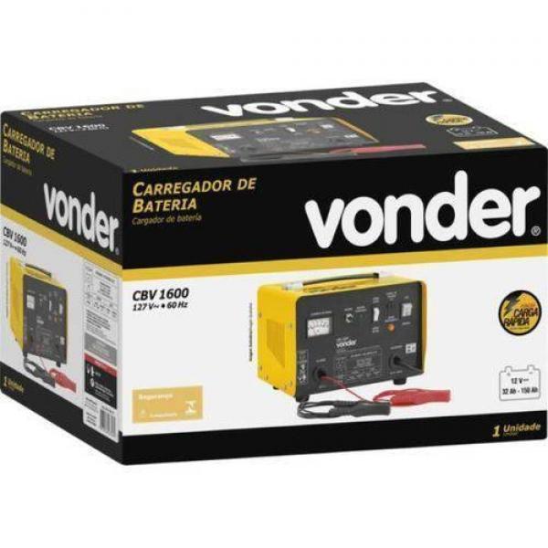 Carregador Bateria Portatil 12v Cbv1600 110v Vonder