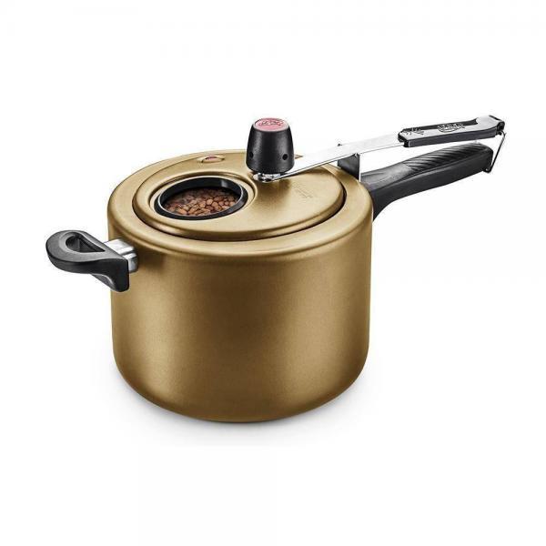 Panela de Pressão Cor Gold com Visor 4,5 Litros Gold MTA - 8501