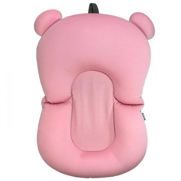 Almofada de Banho para Bebê Rosa Buba Baby