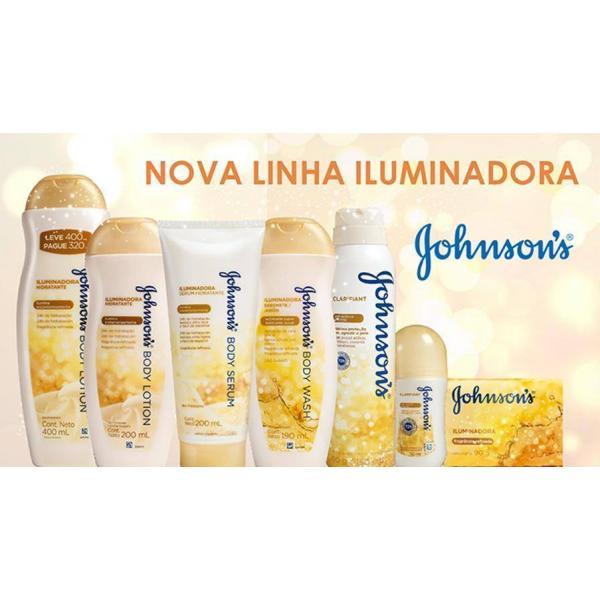 Sabonete Líquido Johnson & Johnson Bodywash Iluminador 190ml