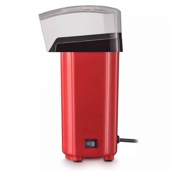 Pipoqueira Elétrica sem Óleo 900W Vermelha 127v Multilaser