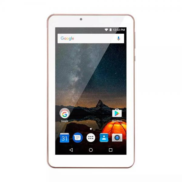 Tablet Multilaser M7S Plus Quad Core Câmera Wi-Fi 1 GB de RAM Tela 7 Pol Memória 8GB Rosa