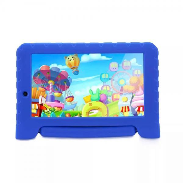 Tablet Multilaser Kid Pad Plus Azul 1GB Android 7 Wifi Memória 8GB Quad Core Multilaser
