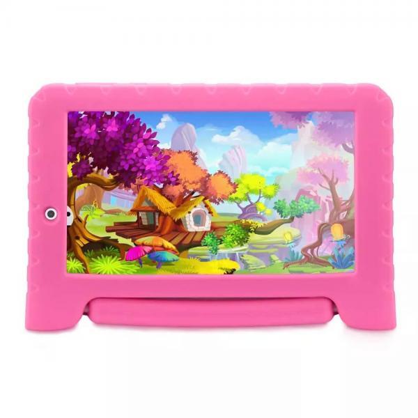 Tablet Multilaser Kid Pad Plus Rosa 1GB Android 7 Pol Wifi Memória 8GB Quad Core Multilaser