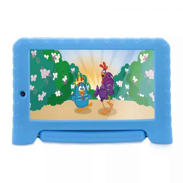 Tablet Galinha Pintadinha Plus Quad Core 1GB RAM Wifi 7 Pol 8GB Android 7 Azul Multilaser
