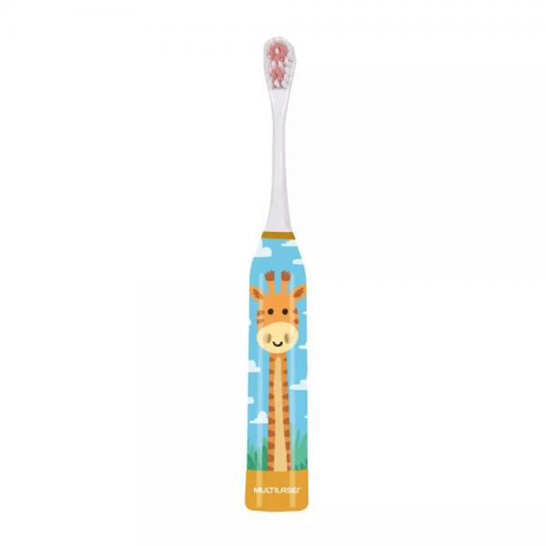 Escova Dental Infantil Girafa Kids Health Pro com 1 Refil