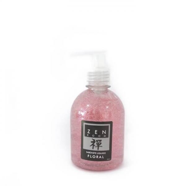 Sabonete Liquido com Gliter Floral Zen Room ZRSG003