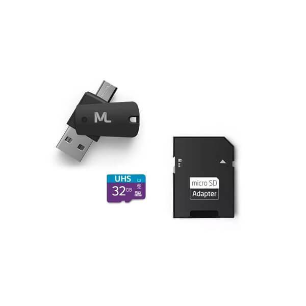 Cartão de Memória Ultra High Speed-I 32GB Até 80 MB/s de Velocidade Multilaser - MC151