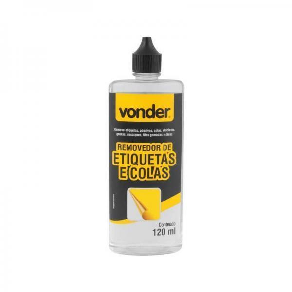 Removedor de Etiquetas e Colas 120 ml Vonder 80.99.130.001