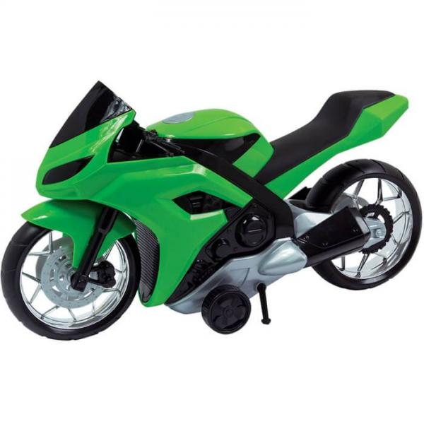 Moto Evolution Verde 186G - Bs Toys