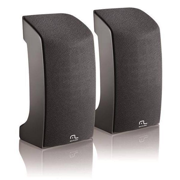 Caixa De Som 2.0 1w Rms Compact Usb Multilaser - SP093